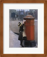 Framed Posting A Letter