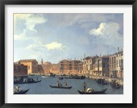 Framed View Of The Canal Of Santa Chiara