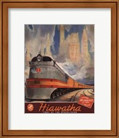 Framed Hiawatha 1937