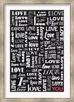 Framed Love YOU