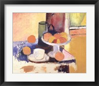 Framed Still Life With Oranges