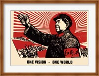 Framed One Vision - One World