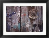 Framed Aegean Brushstrokes V