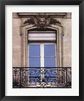 Framed Rue De Paris IV