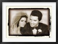 Framed Elvis Presley Weds, 1967
