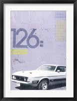 Framed Mustang
