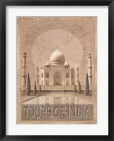 Framed Tours of The East I
