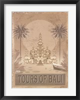 Tours of The East II Framed Print
