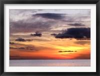 Framed Amber Bay