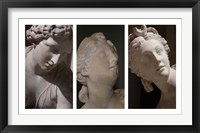 Framed Louvre Triptych