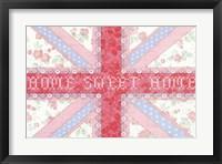 Framed Union Jack, Home Sweet Home