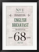 Framed English Breakfast Tea