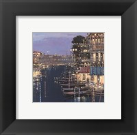 Framed Riviera Twilight