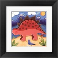 Baby Steggy The Stegosaurus Framed Print