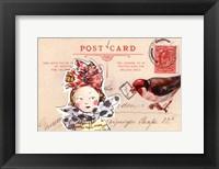 Framed Carte Postal I