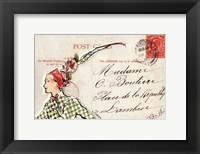 Framed Carte Postal II