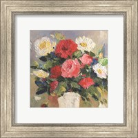 Framed Rose Bouquet