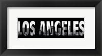 Framed Los Angeles Stencil