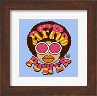 Framed Afro Power