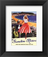Framed Sunshine Riviera