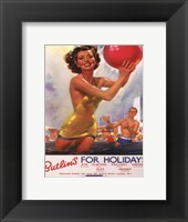 Summer Holiday I Framed Print