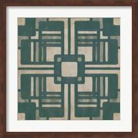 Framed Deco Tile I