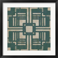Framed Deco Tile I