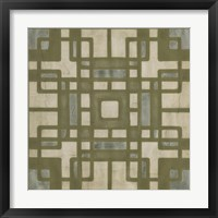 Framed Deco Tile II