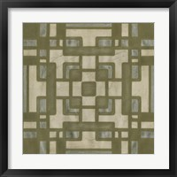 Framed Deco Tile III