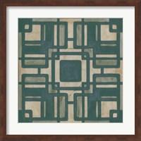 Framed Deco Tile IV