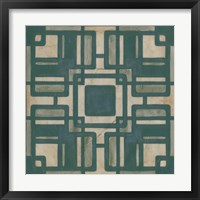 Framed Deco Tile IV