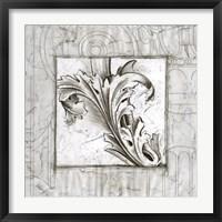 Framed Acanthus Detail III