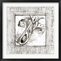 Framed Acanthus Detail IV