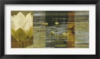 Framed Lotus Panel I