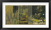 Framed Lotus Panel II