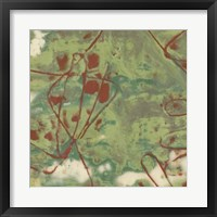 Kinetic Exclusion II Framed Print