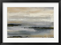 Framed Gray Mist I