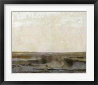 Organic Landscape II Framed Print
