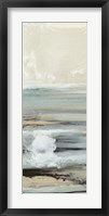 Framed Aqua Seascape III