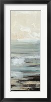 Framed Aqua Seascape IV