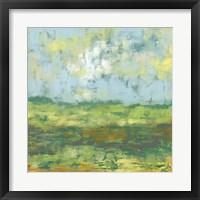 Sunfield II Framed Print
