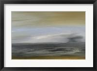 Solitude Sea I Framed Print