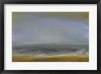 Solitude Sea II Framed Print