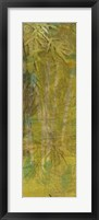 Bamboo Press I Framed Print