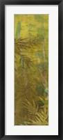 Bamboo Press II Framed Print