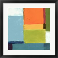 City Square III Framed Print