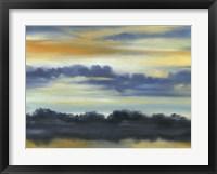 Fountain Lake II Framed Print