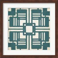 Framed Non-Embellished Deco Tile I