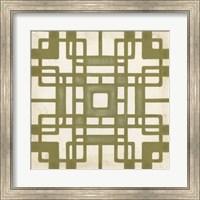 Framed Non-Embellished Deco Tile II