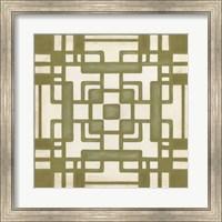 Framed Non-Embellished Deco Tile III